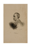 Portrait of Denis Diderot (1715-84) Giclee Print by Francois Seraphin Delpech