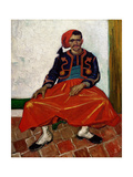 The Zouave, 1888 Giclee Print by Vincent van Gogh