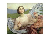 Sense of Sight, 1895 Giclée-tryk af Annie Louisa Swynnerton
