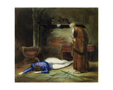 The Death of Romeo Giclee Print by  Deveria Achille and Louis Boulanger
