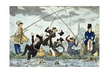 Waltonising or Green-Land Fisherman, C.1830 Giclee Print by Robert Seymour