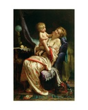 Maternity, 1873 Giclee Print by Leon Bazile Perrault