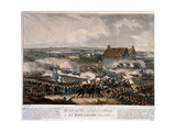 Centre of the British Army at La Haye Sainte During the Battle of Waterloo, Etched by Thomas… Giclee Print by William Heath