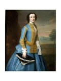 Portrait of a Lady in a Riding Habit Giclee Print by Enoch Seeman