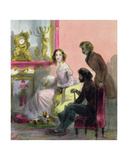 The Duchess, Plate 13 from 'Les Femmes De Paris', 1841-42 Giclee Print by Alfred Andre Geniole