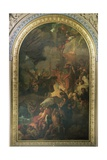 St. Paul Saved from a Shipwreck Off Malta, Altarpiece of the Chapel of St. Peter and St. Paul in… Giclee Print by Benjamin West