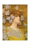 Sarah Bernhardt (1844-1923) Giclee Print by Paul Berthon