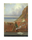 View from a Window of Helgoland Giclee Print by Ernst Willers