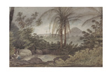 View Near Rio De Janeiro Giclee Print by Augustus Earle