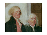 Drafting the Declaration of Independence, 28th June 1776, Detail of Thomas Jefferson (1743-1826)… Giclee Print by John Trumbull