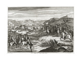 The Battle of Edgehill in 1642 Giclee Print by Michael van der Gucht