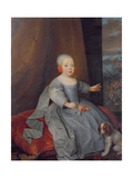 Hon Catherine (D.1719) Daughter of 2nd Lord Colepeper Giclee Print by Adriaen Hanneman