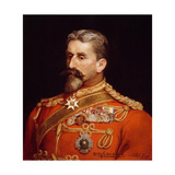 Major General Sir Charles Metcalfe Macgregor Kcb Csi Cie (1840-87) as Quartermaster General… Giclee Print by Michael Ciardiello