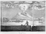 View of Vesuvius, from 'Receuil Des Cartes Et Des Vues Du Voyage En Amerique En Italie En Sicile… Photographic Print by Edouard de Montule