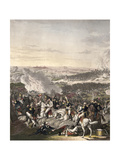 The Flight of Napoleon, Waterloo, 18th June 1815 Giclee Print by Johann Lorenz Rugendas