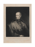 Lt General Sir Henry Clinton, Engraved by Samuel William Reynolds I (1773-1835) 1st May 1827 Giclee Print by Samuel William II Reynolds
