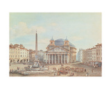 View of the Pantheon, Rome Giclee Print by Victor Jean Nicolle
