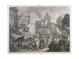 Southwark Fair, 1733 Giclee Print by William Hogarth