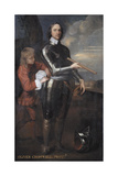 Oliver Cromwell (1599-1658) Lord Protector of England, C.1650 Giclee Print by Robert Walker