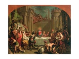 Marriage Feast at Cana, 1766 Giclee Print by Gaetano Gandolfi