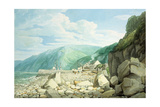 Clovelly, Devon Giclee Print by John White Abbott