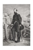 Portrait of General James Birdseye Mcpherson (1828-64) Giclee Print by Thomas Nast