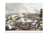 The Centre of the British Army in Action in the Battle of Waterloo, 18th June 1815, Engraved by… Giclee Print by William Heath