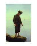 The Young Fisherman Giclee Print by Anton Laurids Johannes Dorph