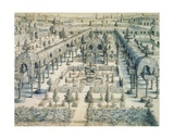 Design for an Ornamental Garden, 1576 Giclee Print by Hans Or Jan Vredeman De Vries