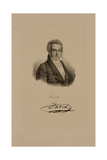 Jacques Louis David (1748-1825) Giclee Print by Francois Seraphin Delpech