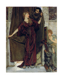 My Sister Is Not In, 1879 Giclee Print by Sir Lawrence Alma-Tadema
