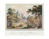 Sketch in the Gardens at Aulnay, 1817 Giclee Print by James Forbes
