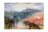 J. M. W. Turner - Dudley, Worcester - Giclee Baskı