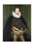 Robert Devereux (1566-1601) Earl of Essex, 1594 Giclee Print by Nicholas Hilliard