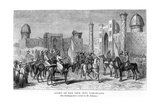 Entry of the Emir into Samarkand, from 'travels in Central Asia...In...1863' by Arminius Vambery,… Giclee Print by Johann Baptist Zweecker