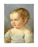 Portrait of a Child Giclee Print by Louis Asher