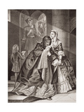 The Escape of Lord Nithsdale from the Tower, 1716, from 'Illustrations of English and Scottish… Giclee Print by Emily Mary Osborn