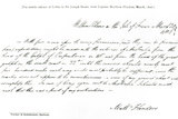 Facsimile Copy of a Letter to Sir Joseph Banks from Captain Matthew Flinders, Dated March 1806,… Photographic Print by Matthew Flinders