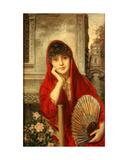 Venetian Beauty Giclee Print by Ricardo de Madrazo y Garreta