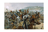 The Relief of the Light Brigade, 25th October 1854, 1897 Giclee Print by Richard Caton Woodville