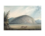 Rock of Independence, 1837 Giclee Print by Alfred Jacob Miller