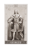 George II (1683-1760) from 'Illustrations of English and Scottish History' Volume II Giclee Print by Enoch Seeman
