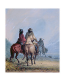 Trappers Starting for the Beaver Hunt, 1837 Giclee Print by Alfred Jacob Miller