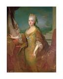 Portrait of Louise-Elisabeth D'Orleans (1709-42) Giclee Print by Jean Ranc