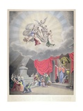 The Apotheosis of Washington, Engraved by H. Weishaupt Giclee Print by Samuel Moore