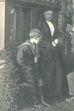 Marion Sambourne (1851-1914) with Her Son Roy (1878-1946) Photographic Print by Edward Linley Sambourne