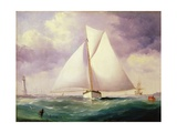 The Spinnaker Sail Giclee Print by Nicholas Matthews Condy