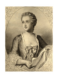 Madame De Pompadour (1721-64) Giclee Print
