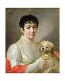 Portrait of an Unknown Woman, 1809 Giclee Print by Johann Ernst Heinsius