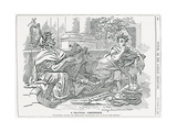 'A Political Conference', Illustration from Punch Magazine, 17th November, 1894 Giclee Print by Edward Linley Sambourne